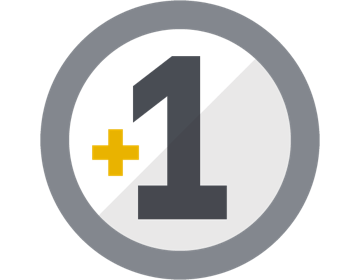 Icon of plus 1