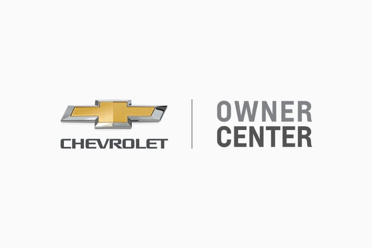Chevrolet Logo & Owner Center text