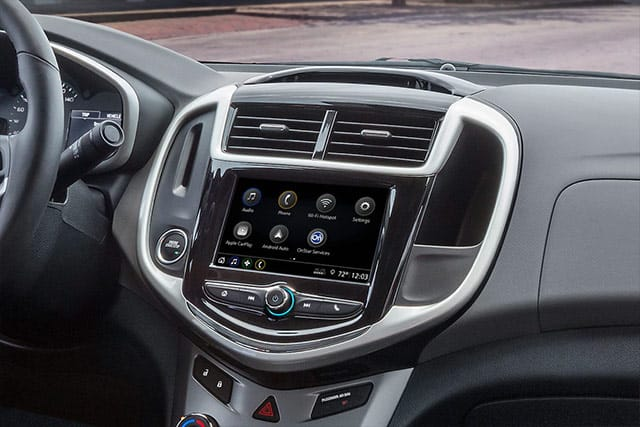 GM vehicle dashboard ready to pair bluetooth