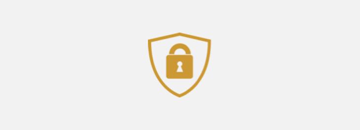 A lock icon